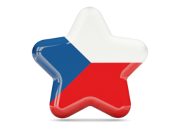czech republic star icon 256
