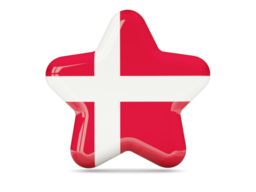 denmark star icon 256