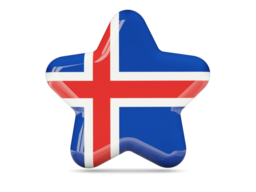 iceland star icon 256