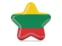 lithuania star icon 256