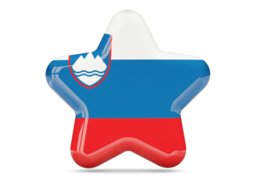 slovenia star icon 256