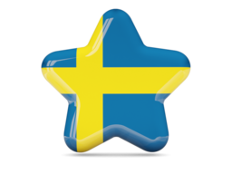 sweden star icon 256