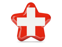 switzerland star icon 256